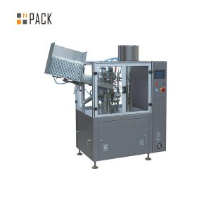 화장 용 플라스틱 크림을위한 고용량 관 충전물 기계