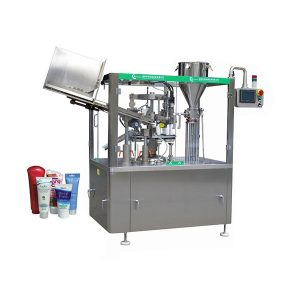 화장품 튜브 충전 기계