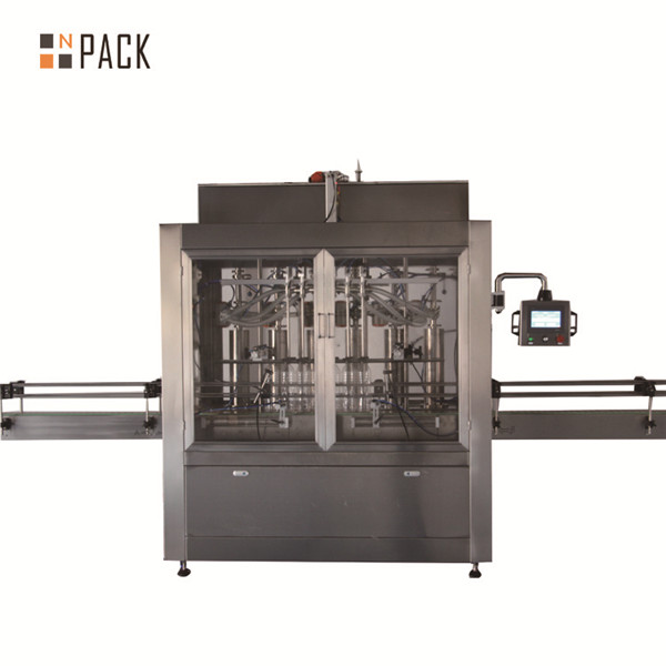 두 개의 헤드 공압 체적 피스톤 액체 충전 기계