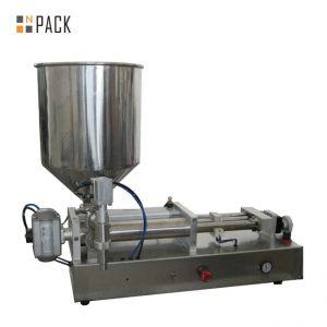 Costomic 2 머리 반 자동적 인 산 액체 충전물 기계