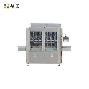 자동 간장 식초 액체 향신료 알코올 충전 기계