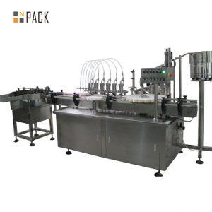 10ml 점안액 충전물 상한 기계 및 레테르를 붙이는 기계